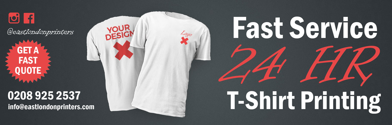 24 hour t shirt printing for T shirt printing and distribution