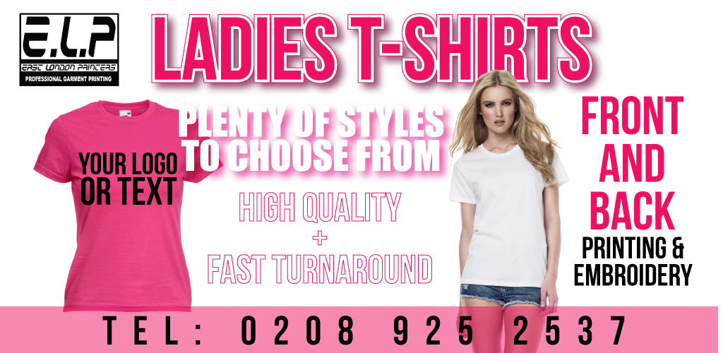 ladies t shirt printing