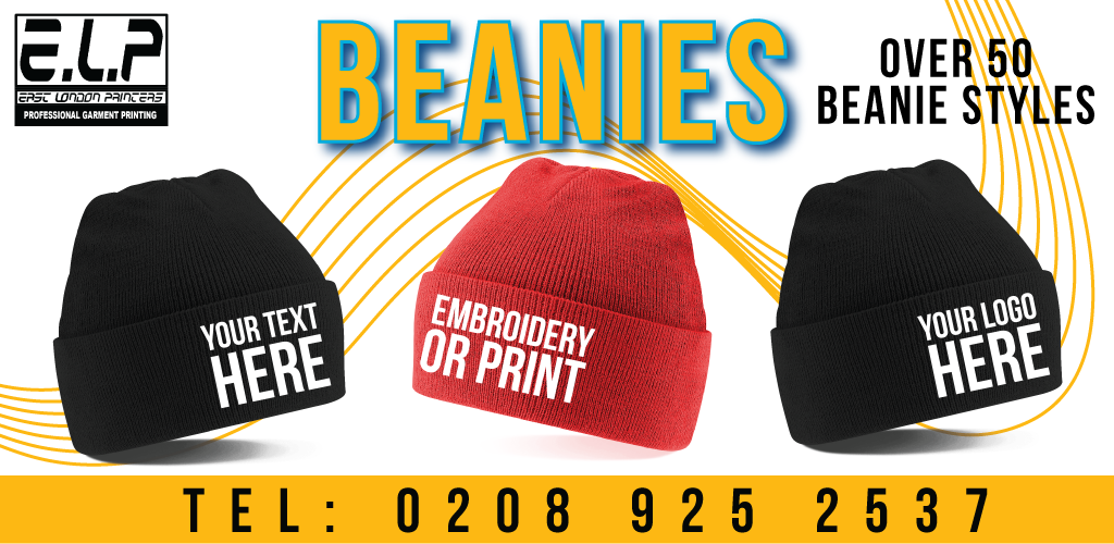 Beanie Hat Printing Amp Embroidery