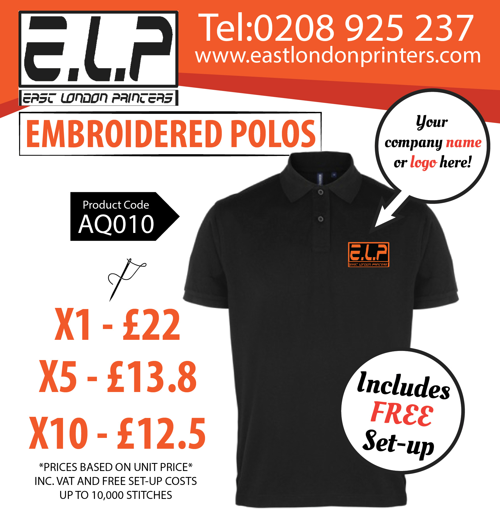 Customised Polo Shirts Polo Shirt Printing London