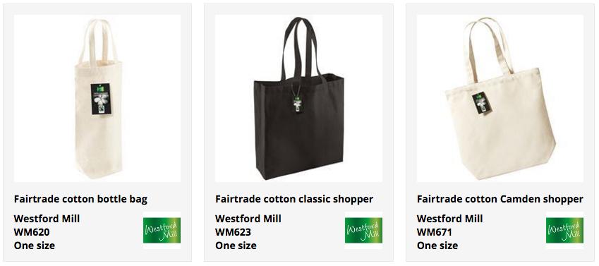 fair trade tote bags
