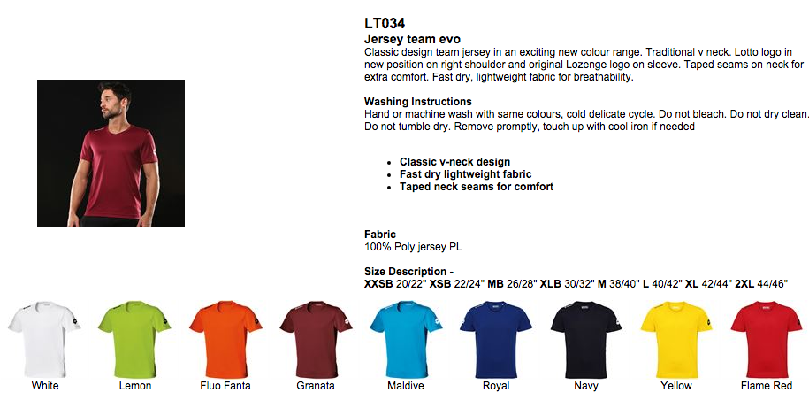 LT034-FOOTBALL-TOP, printed football shirts