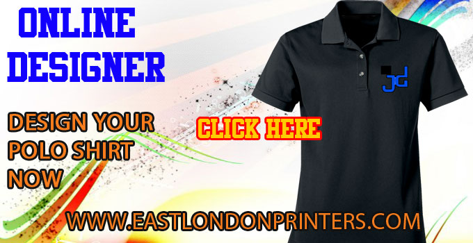 Printing on polo shirts