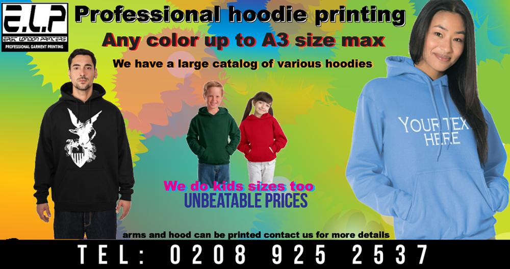 Hoody Printing