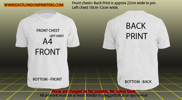 Tshirt mockup templates east london printers for T shirt printing local area