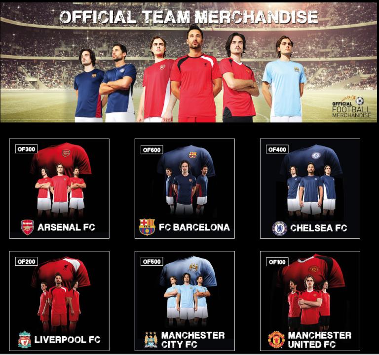Personalised Football Shirts