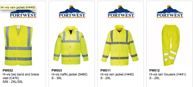 motorcycle hi vis vests