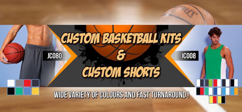 Custom Basketball Kits